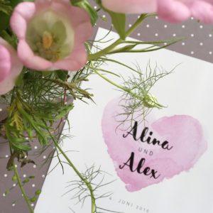Hochzeitsprints